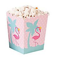 Flaming Theme Popcorn Boxes