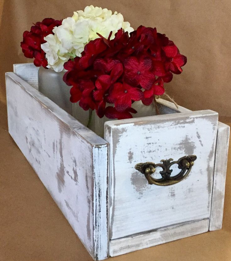 A personal favorite from my Etsy shop https://www.etsy.com/listing/475619076/frosted-mason-jar-centerpiece-box