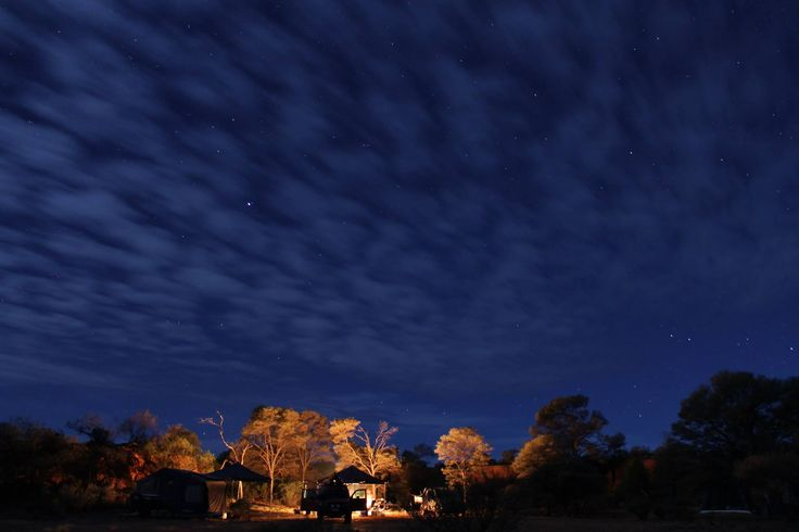 Night time just a couple of hours from Geraldton in the breakaways of Wooleen Station.