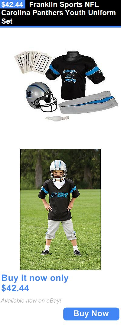 Halloween Costumes: Franklin Sports Nfl Carolina Panthers Youth Uniform Set BUY IT NOW ONLY: $42.44