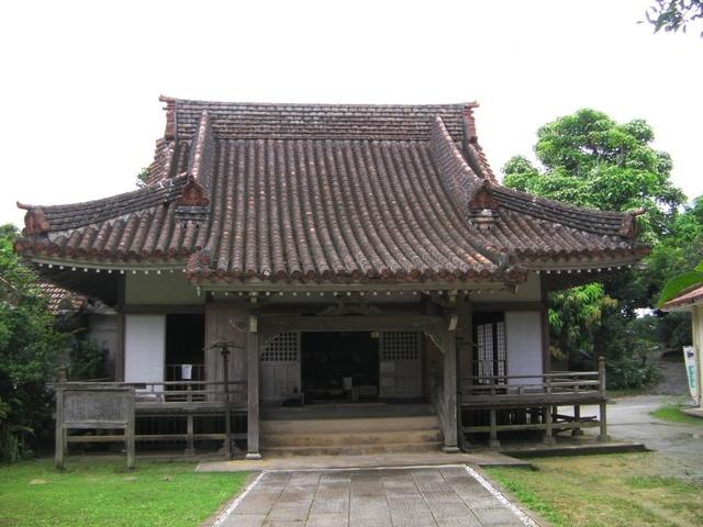 先日は金武町の観音寺にいってきました