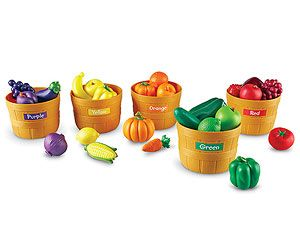 The Best Toys for Kids With Down Syndrome: Farmer's Market Color Sorting Set ($30; toysrus.com) (via Parents.com)
