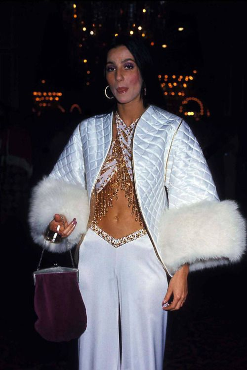 The Goddess Of Pop, Cher 1970's Wearing Bob Mackie