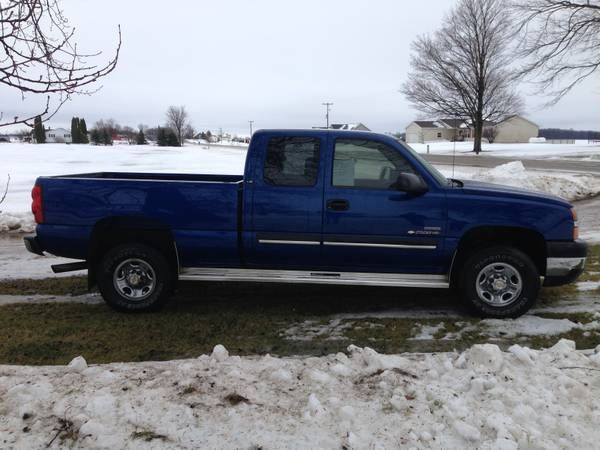 Used 2003 Chevrolet Duramax for Sale ($9,900) truck at Shepherd, MI