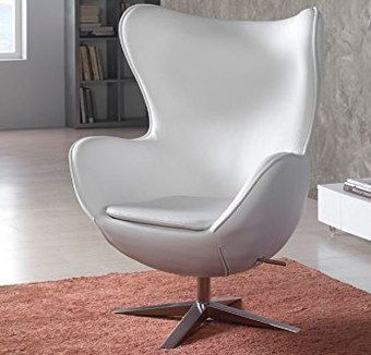 Sillon Eco Leather Rotating Style Chair