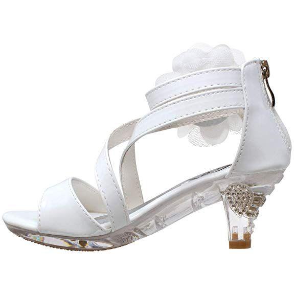 | Generation Y Kids Dress Sandals Girls Clear