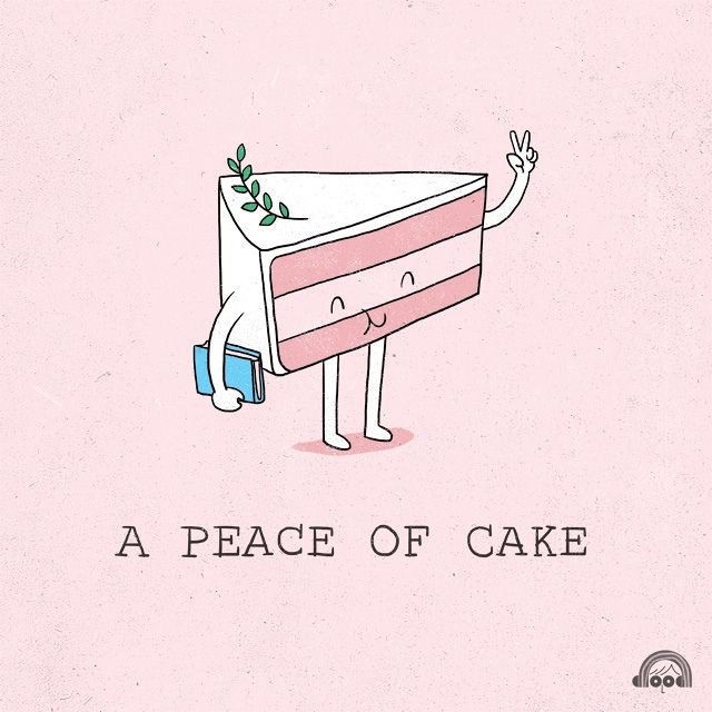 A Peace of Cake by ILoveDoodle, via Flickr