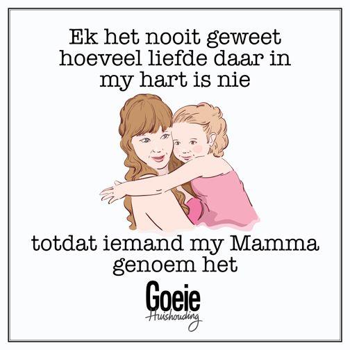 Alle mammas sal hierdie gevoel ken!