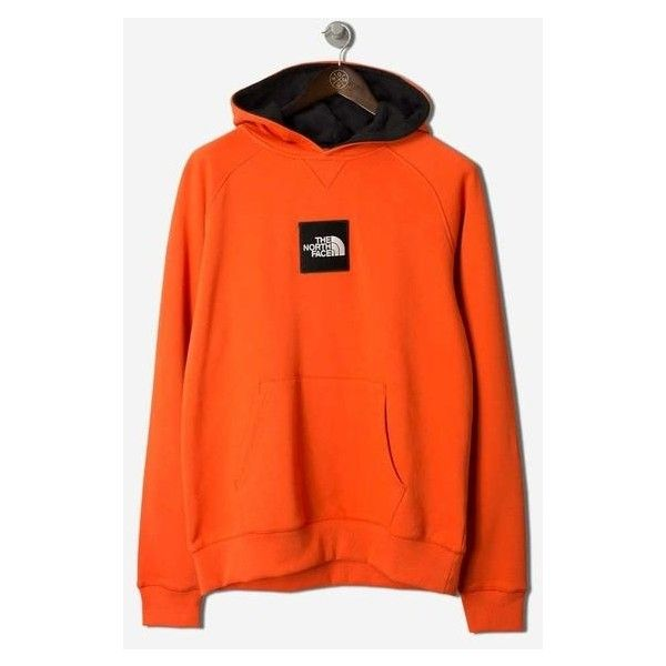 Black Label Fine Hoodie Tibetan Orange ($97) ❤ liked on Polyvore featuring tops, hoodies, the north face tops, loose fit tops, orange hoodies, hoodie top and the north face hoodies