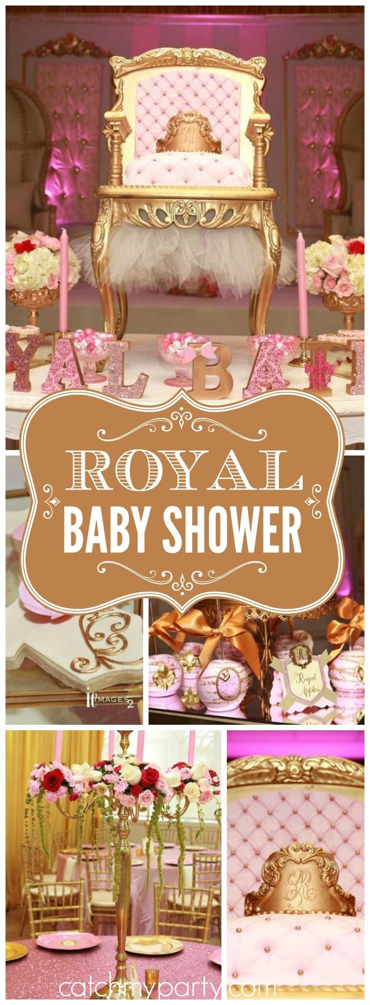 "Royal Baby Shower / Baby Shower ""Princess Royal Bailey"