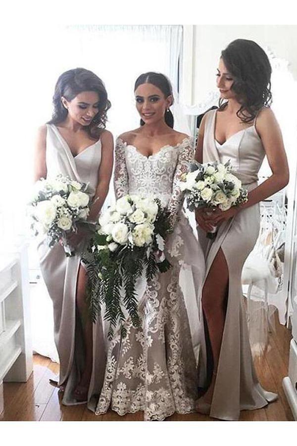 Custom Made Bridesmaid Dress 95d2a90e0344