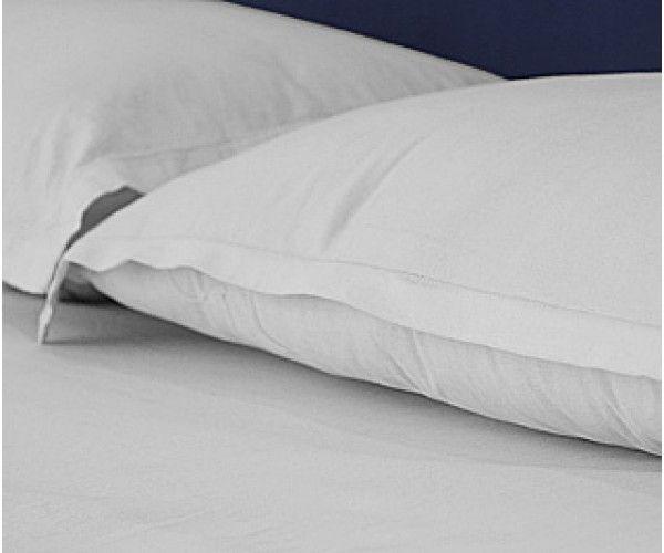 "Shop 42x40-T200 Queen White Pillow Case - Thomaston Thomaston Mills Hotel Supplies White Pillow Cases 42"" x 40"" White 4.0 lbs Online At Ramayan Supply.  42x40-T200 Queen White Pillow Case - Thomaston Thomaston Mills, White Pillow Cases, Hotel White Pillow Cases, Hotel supplies"
