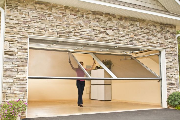 Overhead Garage Door Screens | Garage Screen Doors: A Fresh Take on Outdoor Living!