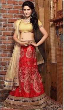 #Red Color Net A Line Style Party Wear Lehenga Choli | FH497176203 #heenastyle, #designer, #lehengas, #choli, #collection, #women, #online, #wedding , #Bollywood, #stylish, #indian, #party, #ghagra, #casual, #sangeet, #mehendi, #navratri, #fashion, #boutique, #mode, #henna, #wedding, #fashion-week, #ceremony, #receptions, #ring , #dupatta , #chunni , @heenastyle , #Circular , #engagement ,#treditional
