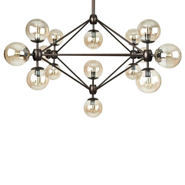 Atelier - Lampe suspendue à 15 sphères/LAMPES SUSPENDUES/LUMINAIRES/MAGASINEZ PAR PRODUIT/ATELIER BOUCLAIR Bouclair.com