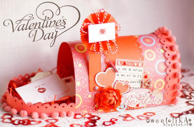 Valentines Day.. Mail Box paper