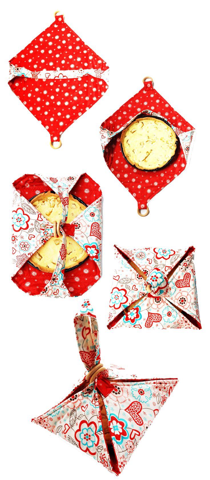 handmade pie carrier
