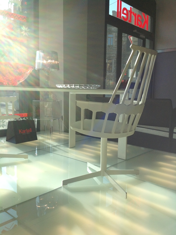 Comback chair in Kartell Verona