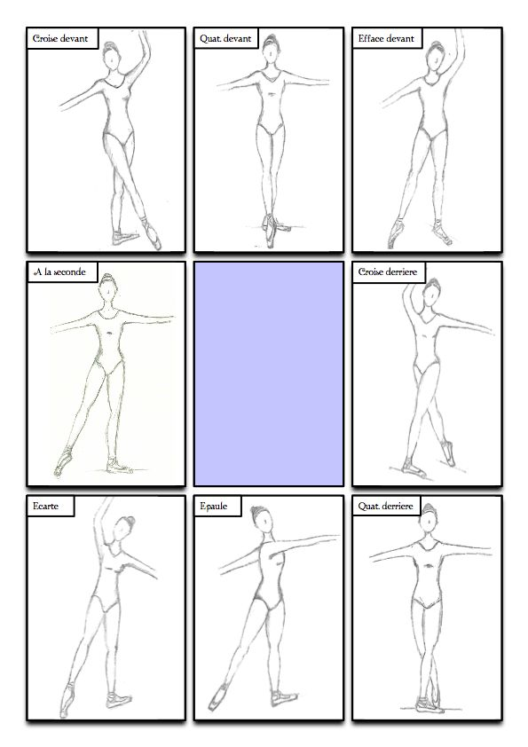 Eight positions of the Body