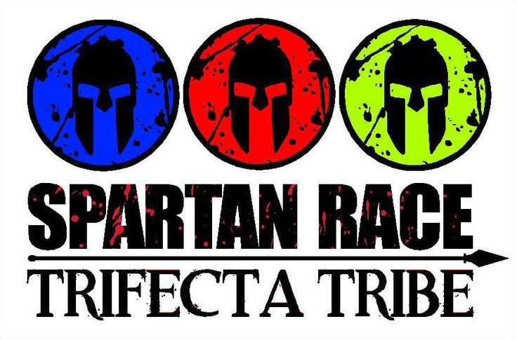 Spartan Race Trifecta Sticker Decal | Spartan race, What ...
