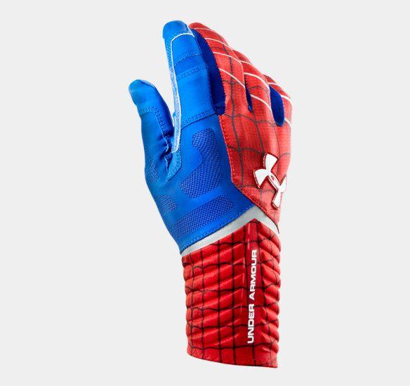 Men's Under Armour® Alter Ego Spider-Man Highlight Football Gloves