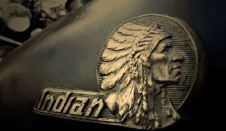 Indian Motorcycle Emblem Indian Motocycle Vintage