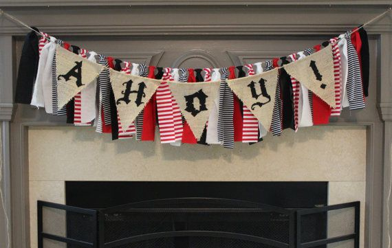 Hey, I found this really awesome Etsy listing at https://www.etsy.com/listing/334394776/pirate-rag-banner-pirate-birthday-party