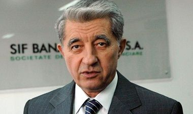 How a Romanian (Arad) technocrat looks: I.Cuzman, director of SIF Banat-Crisana