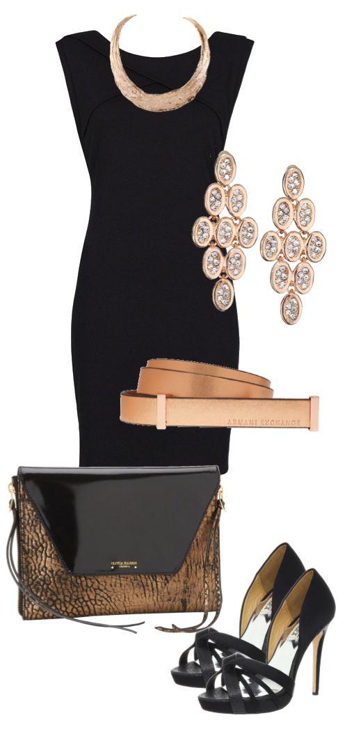 Dress Up Your Classic Black Dress Blackdress Blackheels