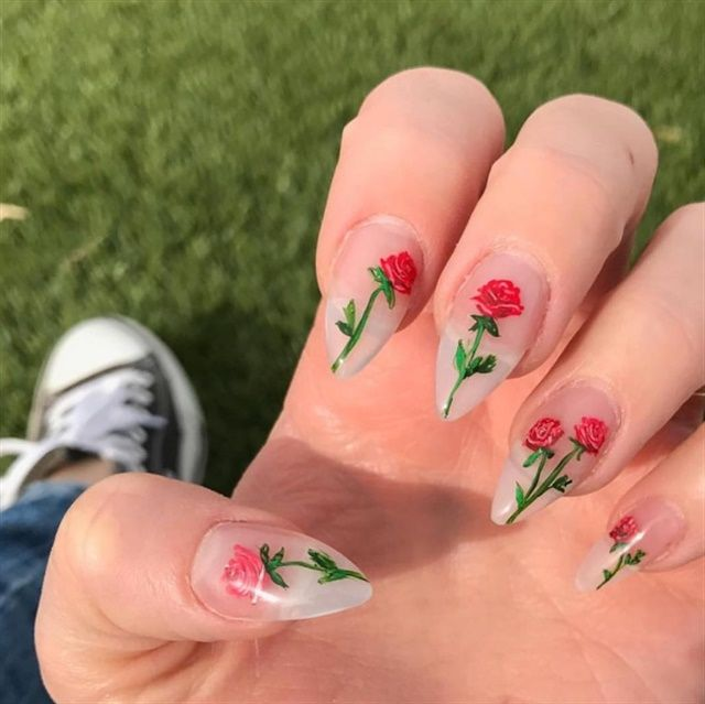 655 best flower nail art images on pinterest floral nail art 29 innovative nail art designs by stash house az prinsesfo Image collections