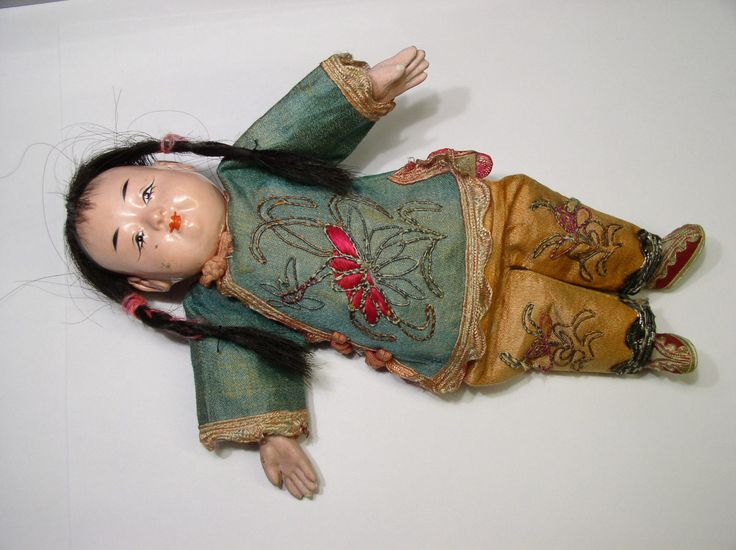 Vintage Composition Oriental Girl Doll FOR SALE • $4.99 • See Photos! Money Back Guarantee. This auction is for a oriental doll about 7 3/4 inches tall. Has original clothing. Face and hands are composition, and in good condition. 272694398966