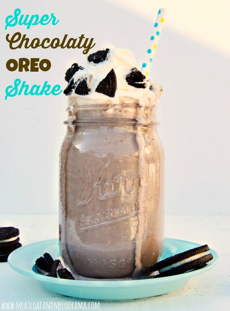 super chocolaty OREO shake