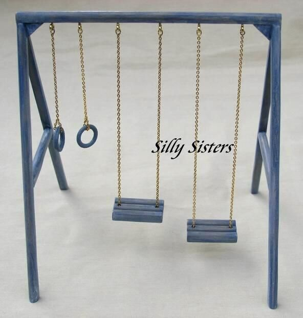 Must have a swing set doncha know!