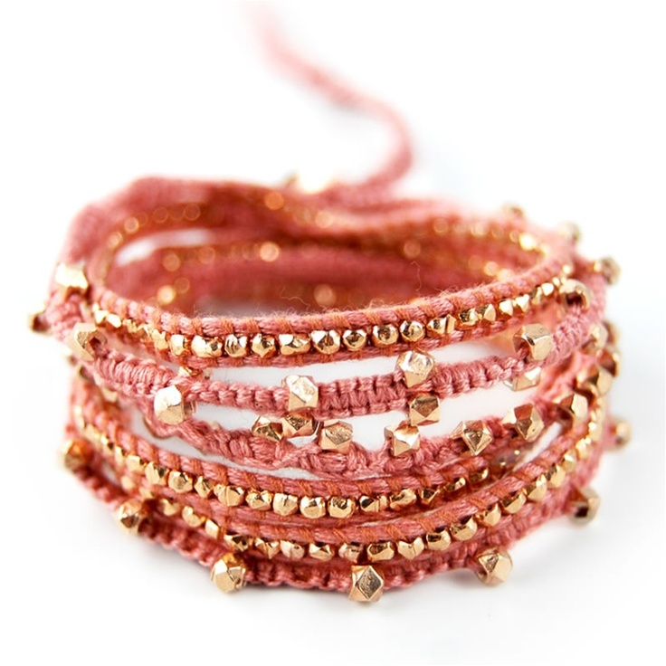 great color for spring and addition to any arm party - by chan luu