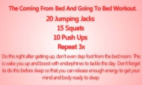 Morning Workout: Bed Workout, Morning Workouts, Work Outs, Before Shower Workout, Quick Workouts 30Min, Mini Workouts, Wake Up Workouts, Fitness Workouts Nutrition, Easyish Workouts