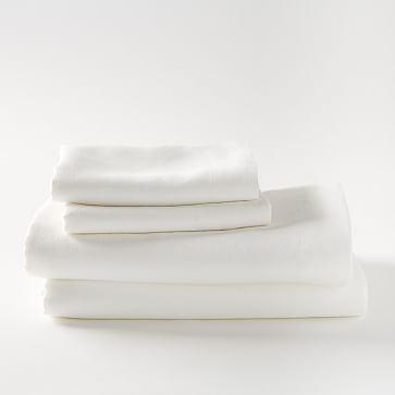Belgian Linen Sheet Set from West Elm