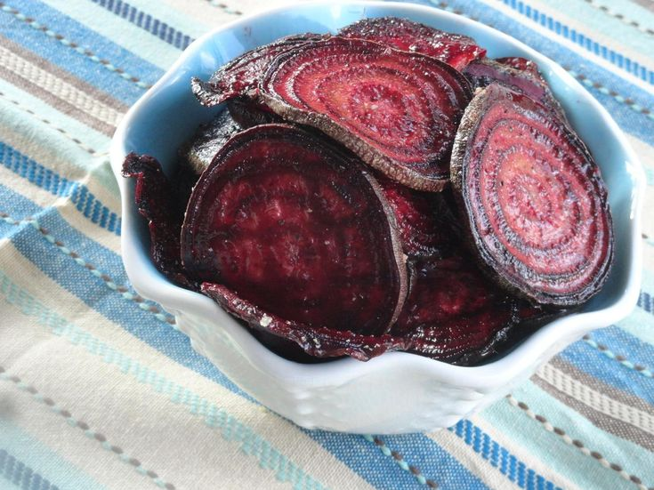 how to make roasted beet chips