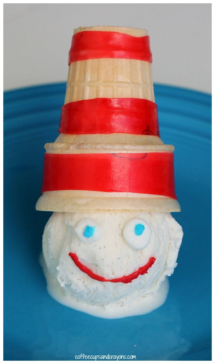 Cat in the hat ornaments - Cat In The Hat Ice Cream