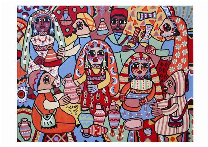 Les potiers par Fatna Gbouri