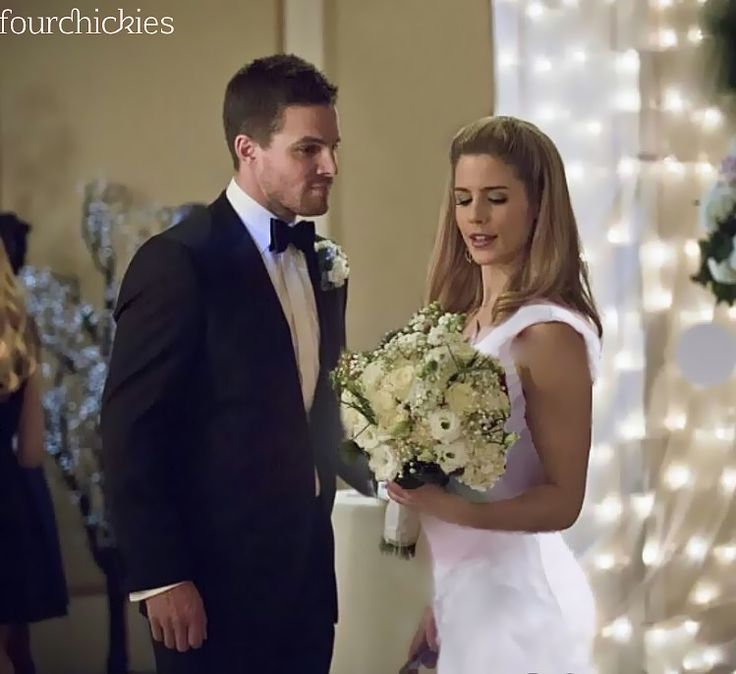 arrow olicity wedding arrow olicity oliver queen and