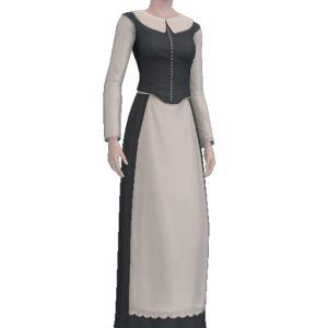 Jamestown Dress - Store - The Sims™ 3