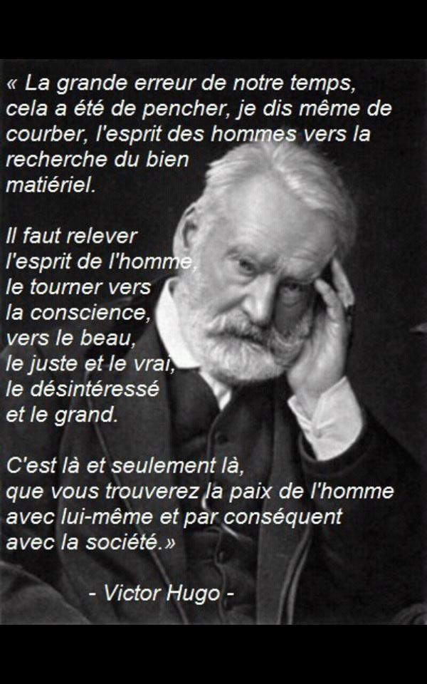 Quotes In Pictures My Grimoire Victor Hugo French Quotes Quote Citation