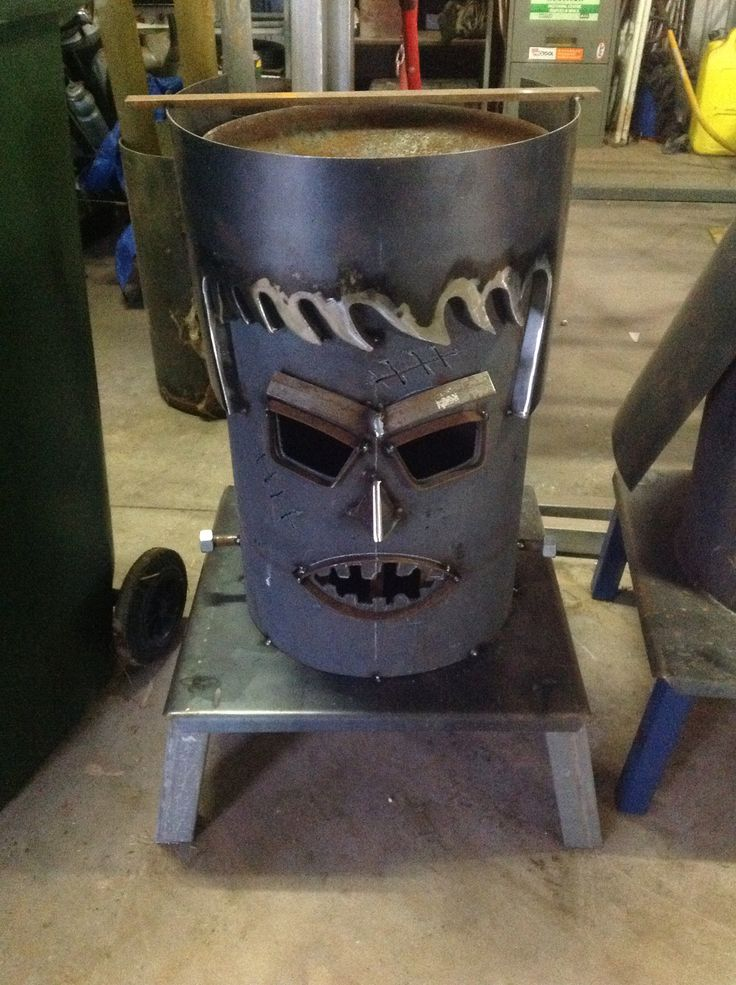 Frankenstein firepit almost finished and nearly ready for sale! | Firepits by Pit Boss ...