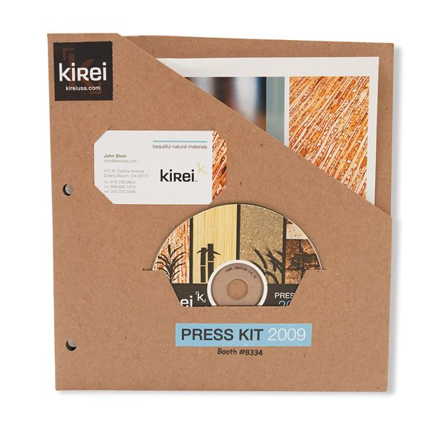More Trash-Proof Press Kits - EXHIBITOR magazine