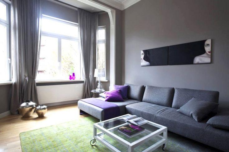 farbige wände im schlafzimmer Welche Wandfarbe im Wohnzimmer - schlafzimmer mit dachschräge farblich gestalten