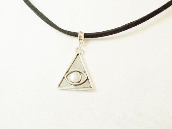 All seeing eye witch protection silver by 10dollarjewellery #allseeingeye #occult #talisman #amulet
