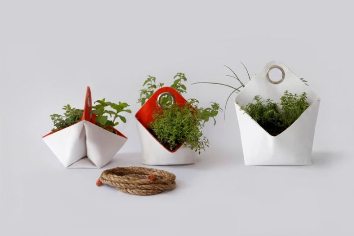 Nomad Portable Herb Planter by  The Garden Apartment recycle other fashion design