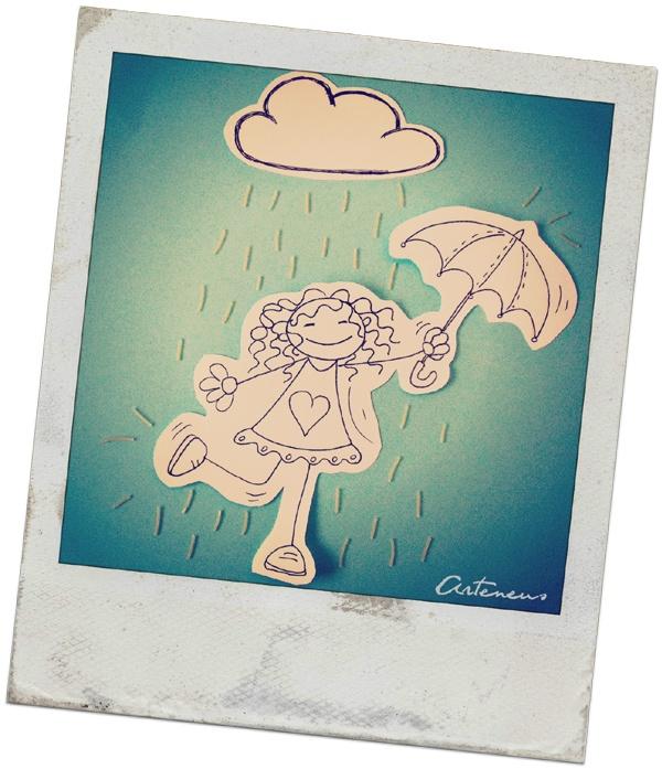 Danzando bajo la lluvia