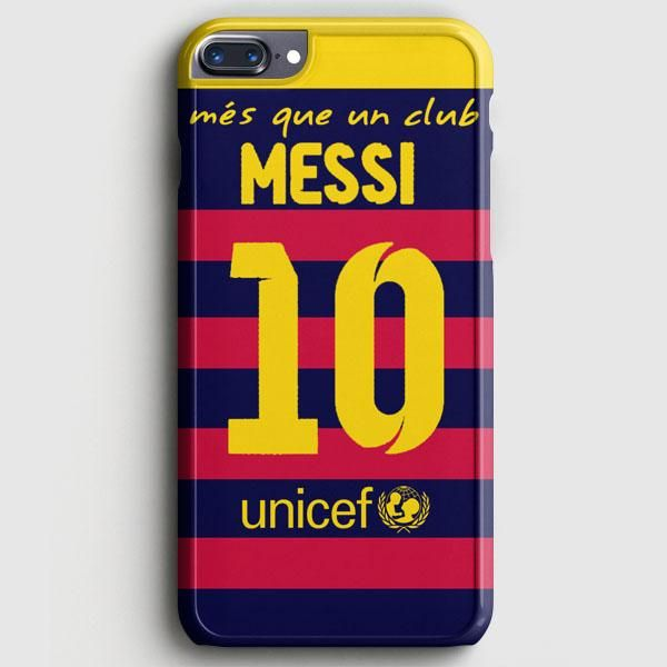 Lionel Messi Fc Barcelona Jersey iPhone 7 Plus Case
