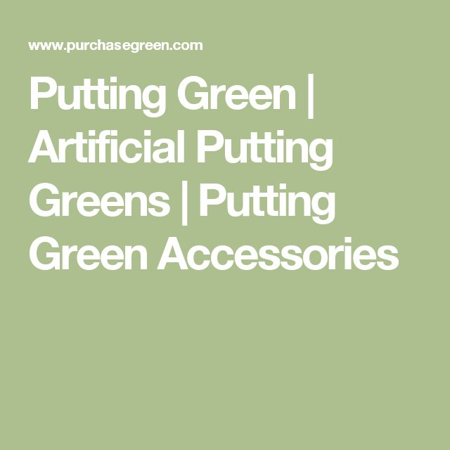 Putting Green | Artificial Putting Greens | Putting Green Accessories